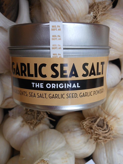 The Original Garlic Sea Salt - 4oz Tin