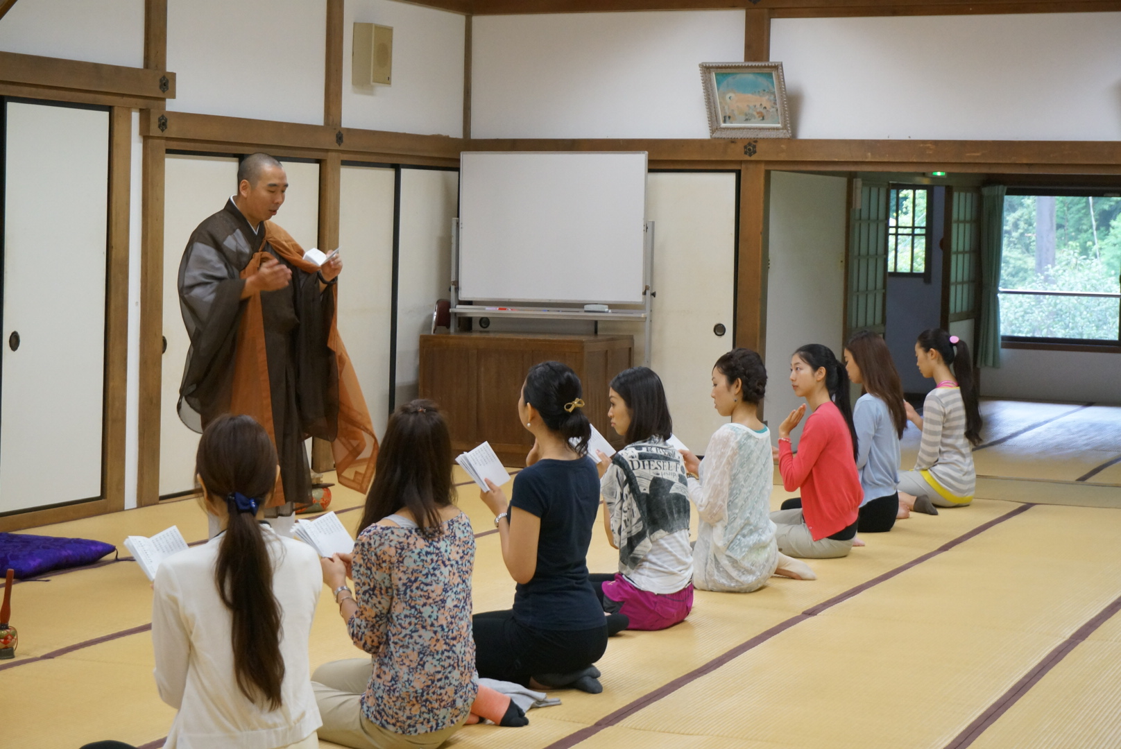 比叡山延暦寺での仏道修行体験