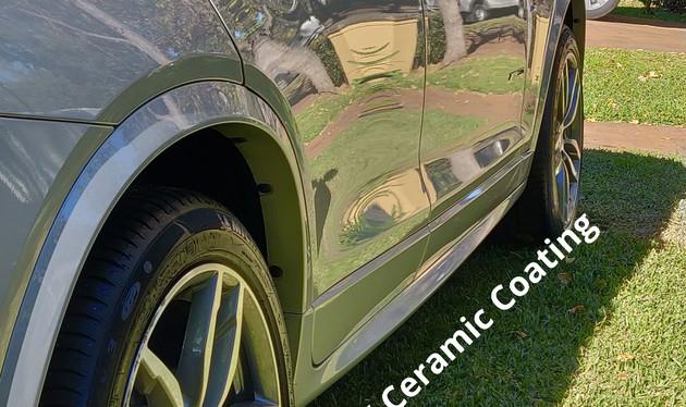 2017 BMW X4 - QFX Ceramic Coated