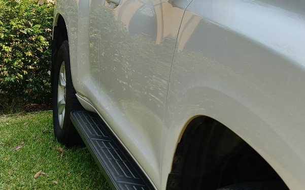 2011 Toyota Prado with Toughseal Paint Protection