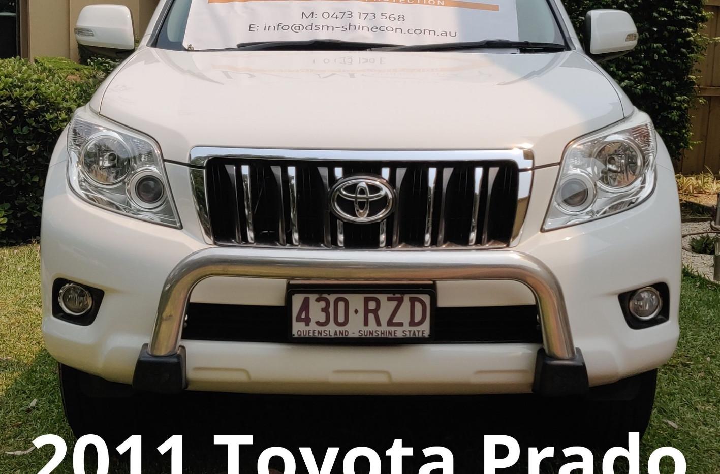 2011 Toyota Prado - ToughSeal Paint Protection