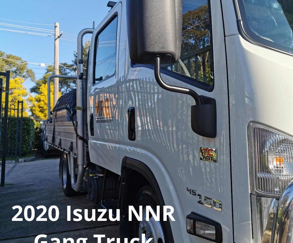 MRG 2020 Isuzu NNR Gang Truck