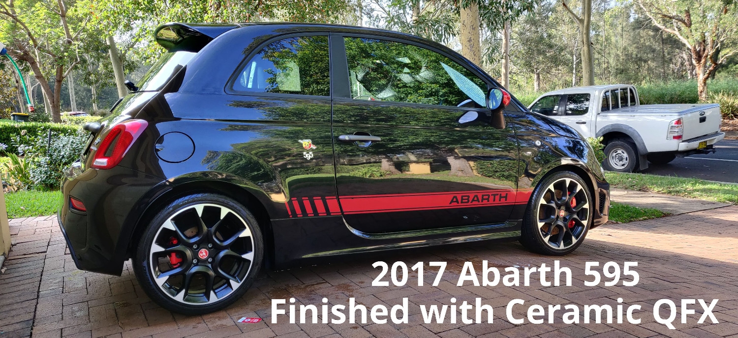 2017 Abarth 595 - Ceramic QFX