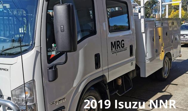 MRG Isuzu Tool Truck