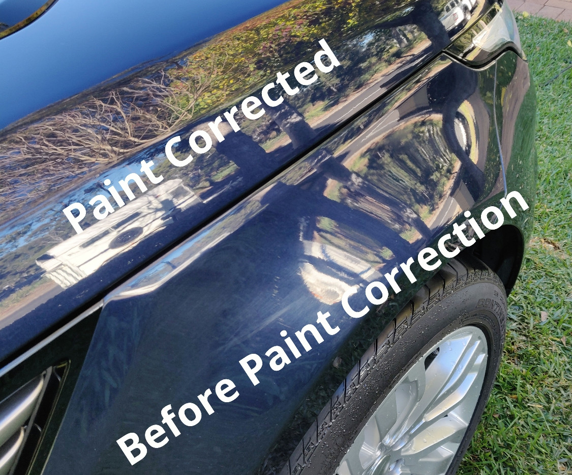 Paint Correction 2014 Range Rover Sport.