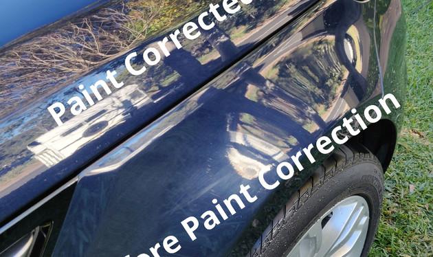 Paint Correction 2014 Range Rover Sport.