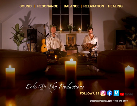 Erde & Sky Follow Us Info
