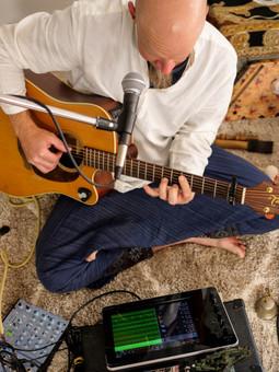 Matti and his guitar