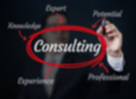 Business Man Writing Consulting Concept,