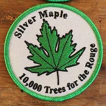 Sample embroidered crest