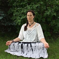 Tanya meditation.JPG