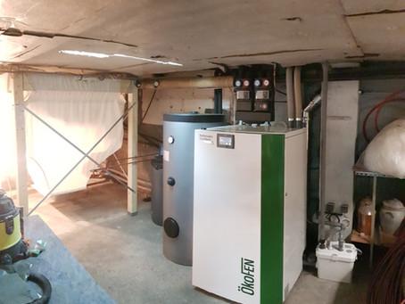 Jamais Delicourt Energies n'avait réalisé un aussi gros chantier chez un client !!!