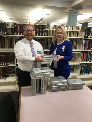 gift of completing Silver Books at Wichi