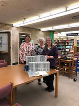 Abilene Library gift of completing Silve