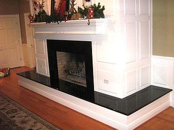 Custom Fireplace Installations