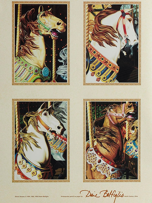 Illions Horse Poster