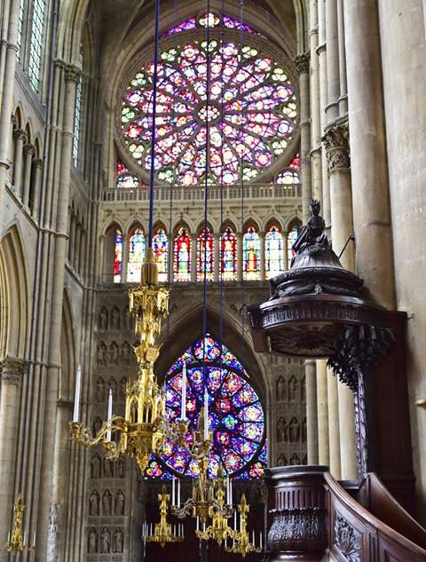 Striking gothic construction