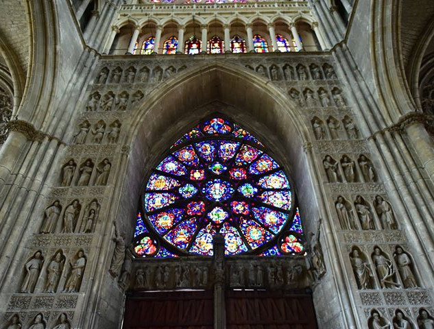 Reims Notre Dame is pretty similar to it