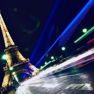 Very long exposure - favorite Paris shot