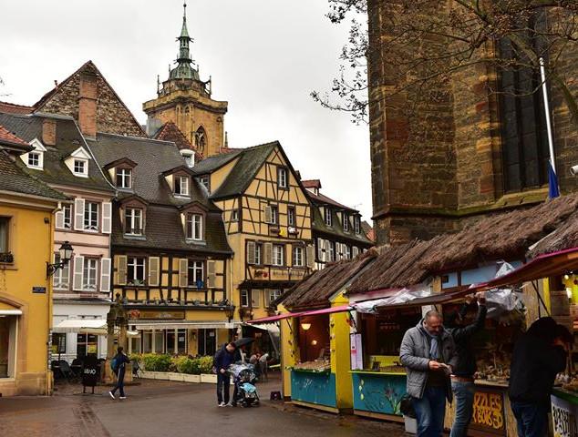 Alsace looks a lot more like Germany tha