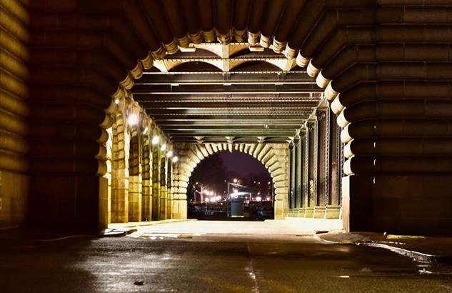 A quiet tunnel