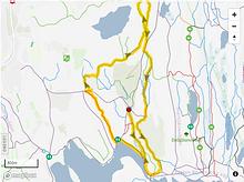 Delsjön MTB-Banan Extended