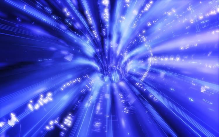 Rappresentazione grafica di un Wormhole