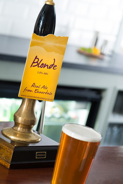 Ennerdale Blonde local real ale