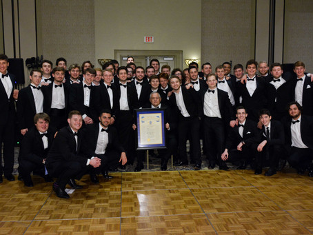 Gamma Sigma Chapter of Sigma Chi Fraternity Officially Reinstalled