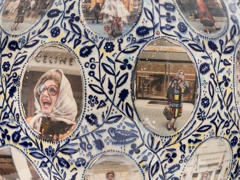 'Grayson Perry: Super Rich Interior Decoration' at the Victoria Miro, Mayfair