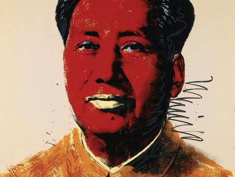 Mao Silkscreens: Is there anything that Warhol can't commodify?
