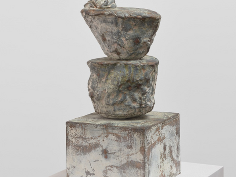 'Cy Twombly: Sculpture' Review - Gagosian Sculpture