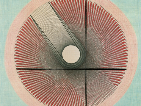 'Emma Kunz: Visionary Drawings' Review - The Serpentine Gallery