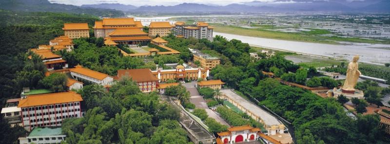 Fo Guang Shan Monastry at Kaohsiung, Taiwan