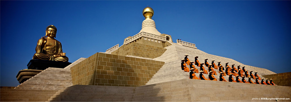 FGS Buddha Memorial Centre, Kaohsiung, Republic of China Taiwan
