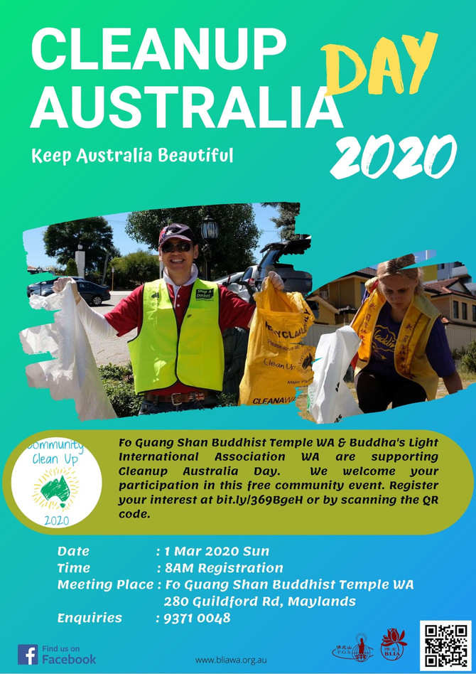 Clean Up Australia Day 2020
