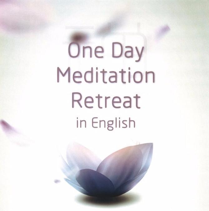 One Day Meditation Retreat in English