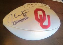 Jason White Autographed Football
