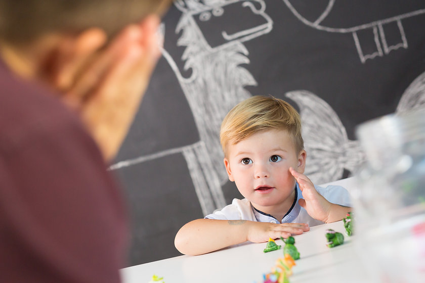 A study by the American Academy of Pediatrics found that simple toys, not electronic ones, hold the most benefit for children.