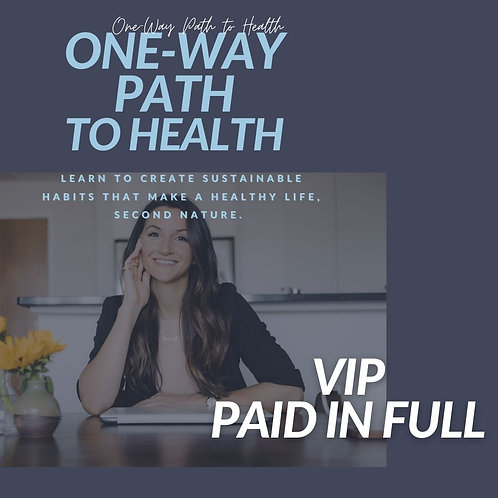 VIP Private Clients - 3 Month Coaching Plan | Paid Upfront