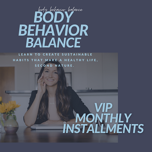 VIP Private Clients - Monthly Coaching Plan | Monthly Installments