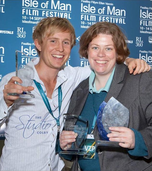 Sebastian Solberg and Gail Hackston