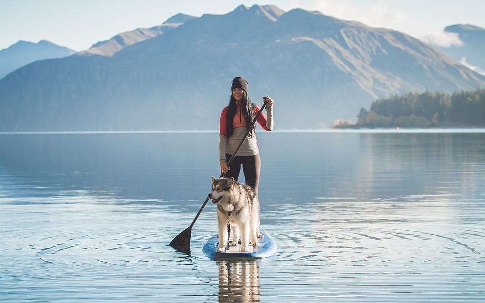 Paddle boarding - Bel Jones
