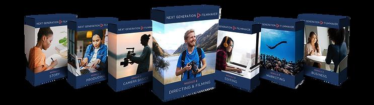 Next Generation Filmmaker - Box Mockup -