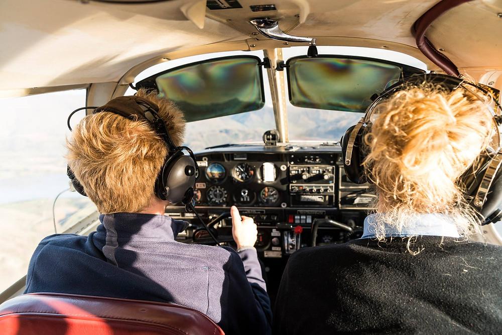 Flying a plane - Sebastian Solberg