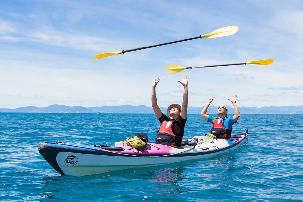 Kayaking - Sebastian Solberg and Jassa Ahluwalia