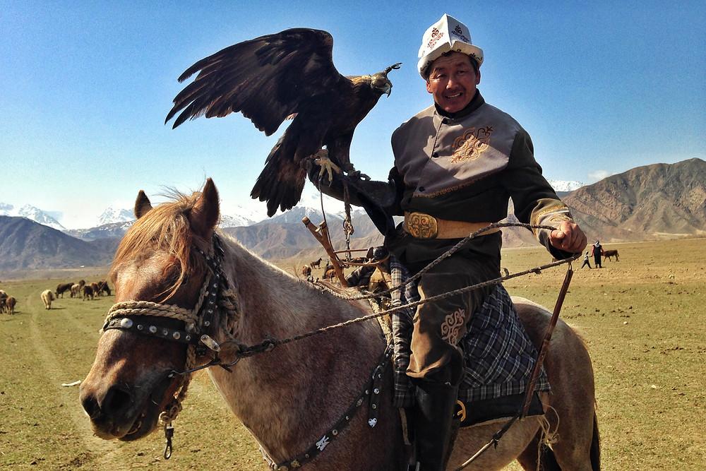 Talgar and his eagle Tumara