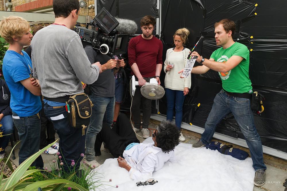 Filming Modern Man