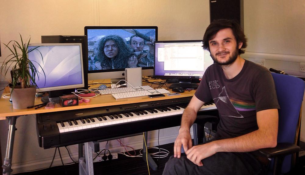 Composer Lyndon Holland