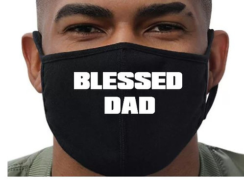 Blessed Dad Mask